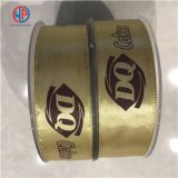 100% Polyester Printed Satin Ribbon For Gift Packing