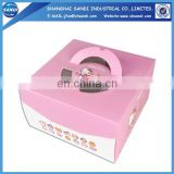 Colorful custom disposable paper meal box