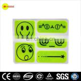 high visibility safety clear reflective sticker