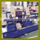 Automatic double head water slot groove milling PVC window fabrication machine