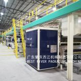 3/5Ply Fully Automatic Corrugated Cardboard Production Line Equipment Corrugated Machine
