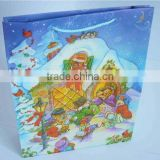 Hign-end prinited paper shopping bag for gift clothes
