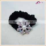 New Arrival Hair Scrunchies Simulated Pearl Flower Gum For Hair Fashion Elastic Hair bands