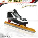 Long track ice speed skate, Speed ice skating with Clap blade