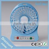 High speed rechargeable 5v/12v dc portable usb axial cooling dc full color brushless motor fan price car blower