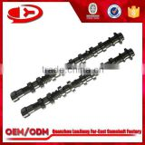 auto parts DOHC Camshaft 24100-23770/24200-23770 for KIA G4ED