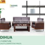 new model carved wood leather sofa with steel base/latest sofa design AD-839