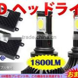 HB4 9006 50w led headlight 1800lm 2000lumens 12V 24V led headlight high power led car headlights