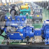 petroleum pipe line washing pump diesel driven