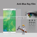 High quality anti blue light shock proof screen protector film for OPPO R7 plus eyes protector film