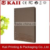 wholesale factory of eco recycled paper notebook, high quality eco recycled paper notebook made in China