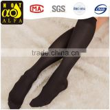 Women's 15-20 medical compression knee high support running socks