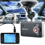 "FULL HD 1080P K6000 Car DVR Video Camera Recorder G-sensor HDMI Motion 2.7"" TFT with Night Vision"
