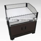 Supermarket Wire Promotion Table Stand Dump Bin