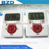 OEM/ODM Customized Promotional 24hour Day Count Countdown Timer Hours Minutes with Clip and Magnet