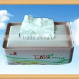 Tissue Tin Box with Food-grade Tinplate with CMYK Printing
