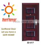 China Sunflower Patio Steel Security Door(SD-017)                                                                                                         Supplier's Choice