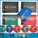 non-slip waterproof door welcome mat carpet decoration