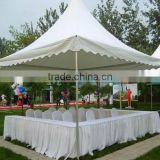 Attractive spring wire pop up pagoda party steel tent