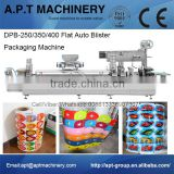 Coating Chewing Gum Automatic Chocolate Blister Packing Machine