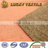 Double face wool knit fabric for jacket and blazer
