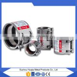 manufacture spacer couplings pipe fittings/High Quality repair clamp pipe/ coupling for Rigid Pipes