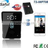Answer the door with smartphone cheap apartment ip video door phone intercom system TS-IWP708