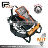 Video Pipe Line Inspection Camera with Fiberglass Cable 3.5'' LCD Taiwan Made