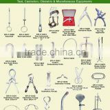 Teat, Castration, Obstetric instruments and veterinart syringes, veterinary Instruments and equipments and Horse riding supplies