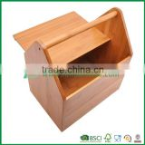 chinese traditional hamper large capacity bread storage bin box with handle , bamboo from fuboo