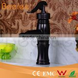 New Water Pump Style Oil Rubbed Bronze Bath Vessel Sink Basin Tap Faucet