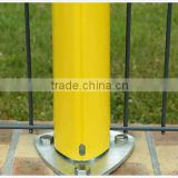 High Quality PVC coated Peach type Column Fence /Fast loaded peach type fence netting (manufacturer)