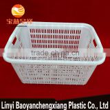 690x500x360mm plastic container basket box crate soft shell crab farm for transportation