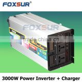 24V 230V UPS Hot sales 3000W Top quality Rated car power Modified pure sine wave inverter for mobile vehicle supply