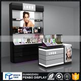 Super quality MDF nail polish display case with lock                                                                         Quality Choice