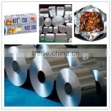 special good price aluminium foil roll used for food packaging,lamilation,printing , insulation ,air duct in alloy 8011 and 1235