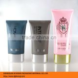Oval Plastic Shaving Gel Packaging Tube