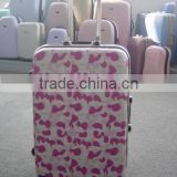 your best choice !!! alibaba china new product 2015 professional abs pc makeup luggage trolley cases
