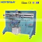 good raw material direct factory hot selling best semi automatic plastic bottle screen printing machine