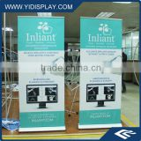 Custom printed automatic magnetic roll up birthday flex banner 280 gsm