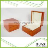Watch Box Factory Manufacturer Brown Wooden Watch Display Box