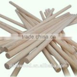 Natural wood sticks for snow shovel handle/long wood mop stick poles                                                                         Quality Choice