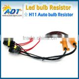 H4 H7 H8 9005 9006 H11 LED DRL Fog Light Canbus 50W 6Ohm Load Resistor Canceller Decoder Harness