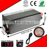 3000W 24VDC-220VAC pure sine wave inverter UPS power supply inverter AC charge home inverter