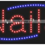 LED Sign for Nail Salon advertising sign for the beauty salon nail shops OEM is welcome                                                                         Quality Choice