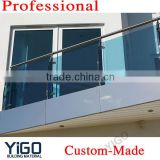 balcony stainless steel glass railing design                                                                         Quality Choice