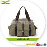 Large capacity handbag high quality canvas shoulder bag tote bag