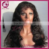 Factory price 6A silk top brazilian full lace wig cheap brazilian virgin human hair wig for black women