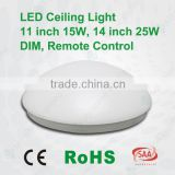 2016 led lights CE SAA RoHS approved 3 years warranty LED Oyster lihgt 15W 25W dimmmable adjustable bulkhead ceiling light