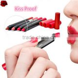 MENOW 19Colors Kiss Proof Cosmetic lipstcik Kiss Beauty lipstick Waterproof Liquid matte Lipstick